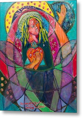 Heartsong Metal Print by Havi Mandell