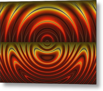 Heat Of The Moment Metal Print by Wendy J St Christopher