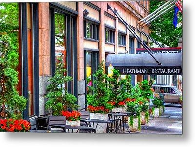 Heathman Restaurant 17368 Metal Print