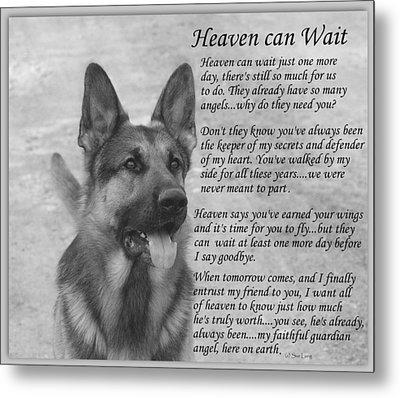 Heaven Can Wait Metal Print