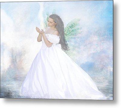 Heavenly Angel Metal Print
