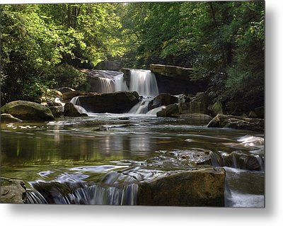 Heavenly Bliss On Decker Creek Metal Print