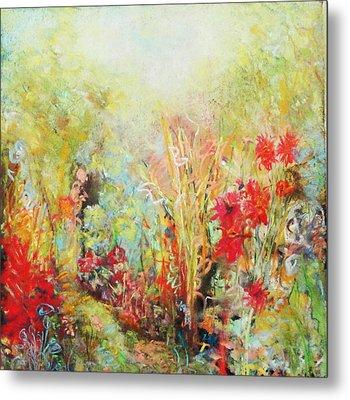 Heavenly Garden Metal Print