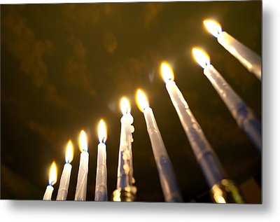 Heavenly Lights Metal Print
