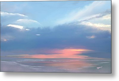 Metal Print featuring the digital art Heavenly Morning by Anthony Fishburne