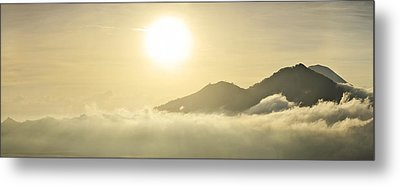 Heavenly Peaks Metal Print