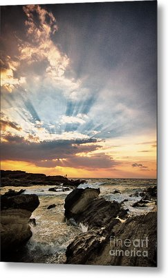 Metal Print featuring the photograph Heavenly Skies by John Swartz