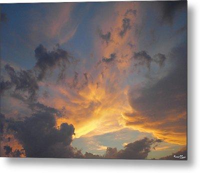 Heavenly Sky Metal Print by Bill Woodstock
