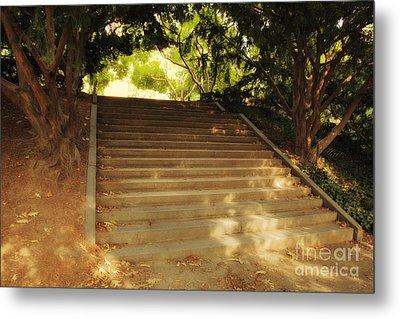 Heavenly Stairway Metal Print by Madeline Ellis