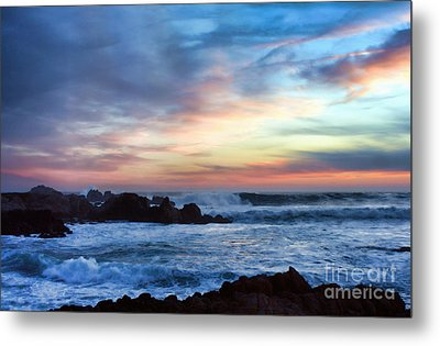 Heavenly Sunset Metal Print by Polly Peacock