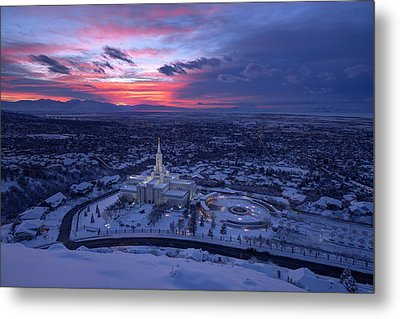 Heavenly View Metal Print by Dustin  LeFevre