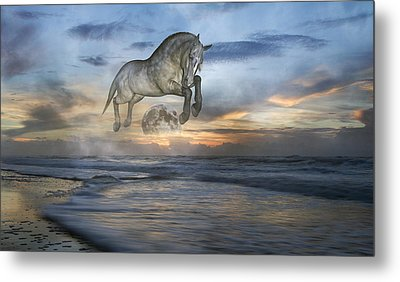 Heavens In The Sky Metal Print by Betsy Knapp