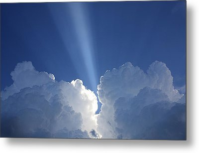Heaven's Spotlight Metal Print
