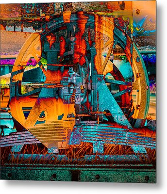 Heavy Duty I Metal Print by Andy Bitterer