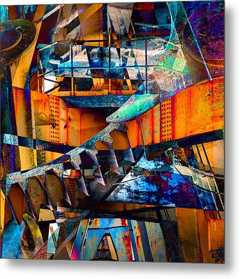 Heavy Duty II Metal Print by Andy Bitterer