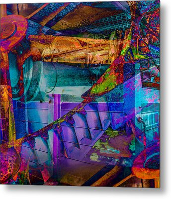 Heavy Duty IIi Metal Print by Andy Bitterer