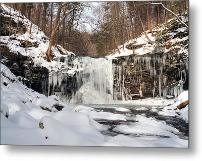 Heavy Ice At Harrison Wright Metal Print