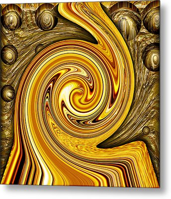 Heavy Metal 2 Metal Print by Wendy J St Christopher