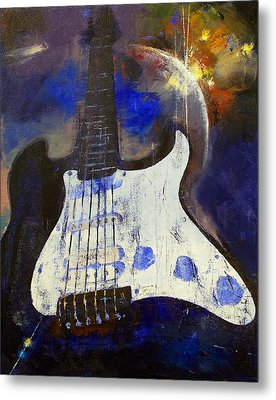 Heavy Metal Metal Print by Michael Creese