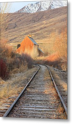 Heber Valley Railroad Metal Print by Johnny Adolphson