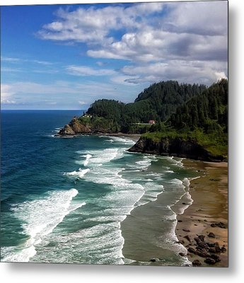 Heceta Head Metal Print