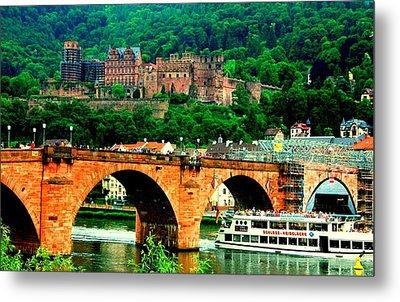 Heidelberg Castle Metal Print by Kimo Fernandez