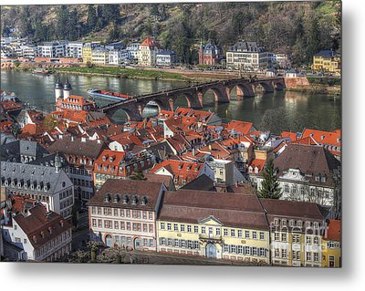 Heidelberg Germany 2 Metal Print