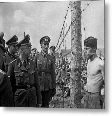 Heinrich Himmler, Head Of The Nazi Ss Metal Print by Everett