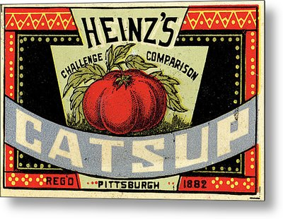 Heinz Ketchup Metal Print by Us National Archives