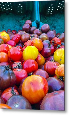 Heirloom Tomatoes V. 2.0 Metal Print by Dennis Reagan