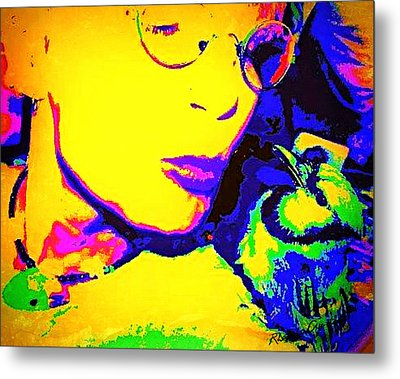 Hello Betty Metal Print by YoMamaBird Rhonda