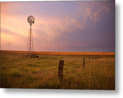 Hello Kansas Metal Print by Shirley Heier