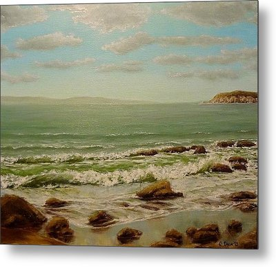 Hello Sea Metal Print by Svetla Dimitrova