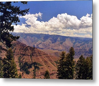 Metal Print featuring the photograph Hells Canyon by Debra Kaye McKrill