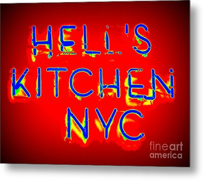Hell's Kitchen Nyc Metal Print