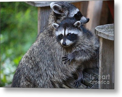 Help Me Mommy Metal Print by Kym Backland