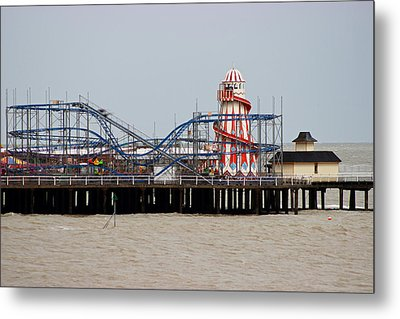 Helter Skelter Metal Print by Martin Newman