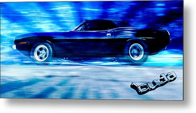 Hemi Cuda Metal Print by Phil 'motography' Clark