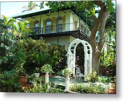 Hemingway House Metal Print by Kay Gilley
