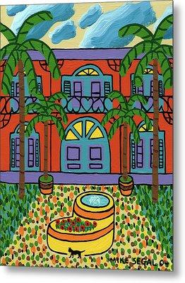 Hemingway House - Key West Metal Print