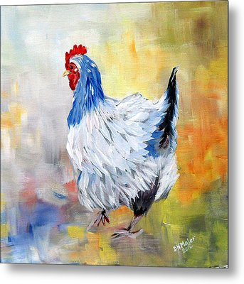 Hen Metal Print by Dorothy Maier