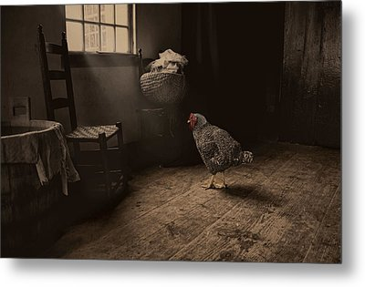 Trapped Metal Print by Robin-Lee Vieira