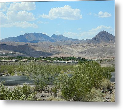 Metal Print featuring the photograph Henderson Nevada Desert by Emmy Marie Vickers