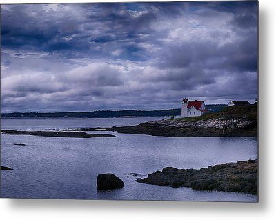 Hendricks Head Light Metal Print by Jeff Folger