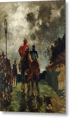 Henri De Toulouse Lautrec Metal Print by The Jockeys