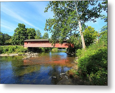 Metal Print featuring the photograph Henry Bridge by Trina  Ansel