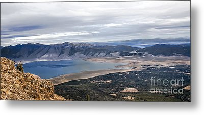 Henry Lake Metal Print by Robert Bales