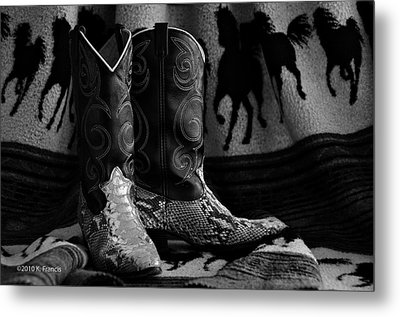 Metal Print featuring the photograph Her Favorite Pair by Kenny Francis