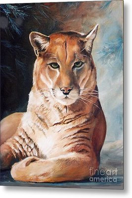 Her Majesty Metal Print by Suzanne Schaefer