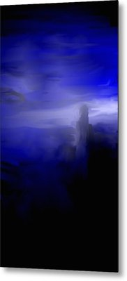 Her Overlook Metal Print